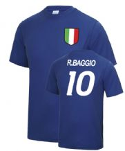 Roberto Baggio Italy World Cup Football T Shirt